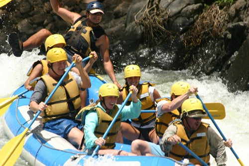 White Water Rafting in Costa Rica   Tico Travel