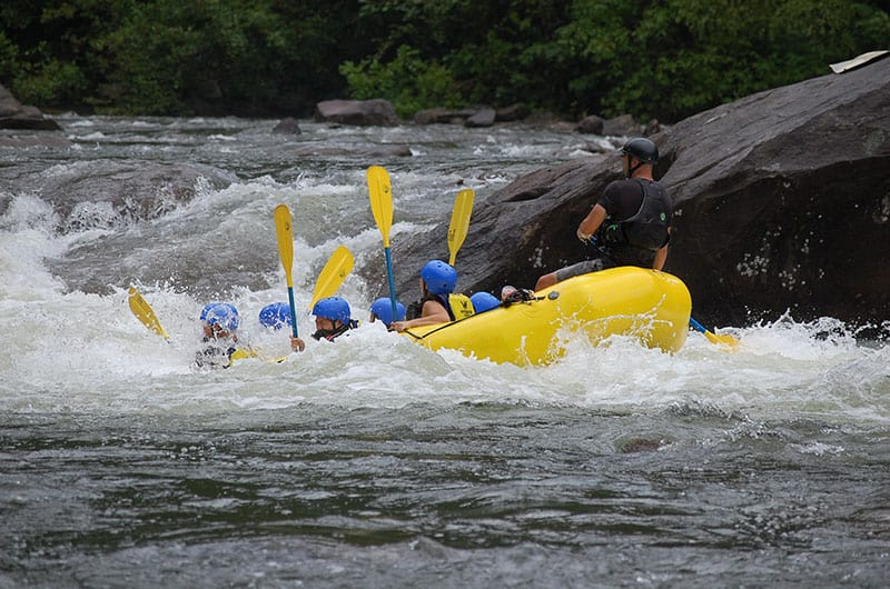 White Water Rafting Costa Rica | Tico Travel