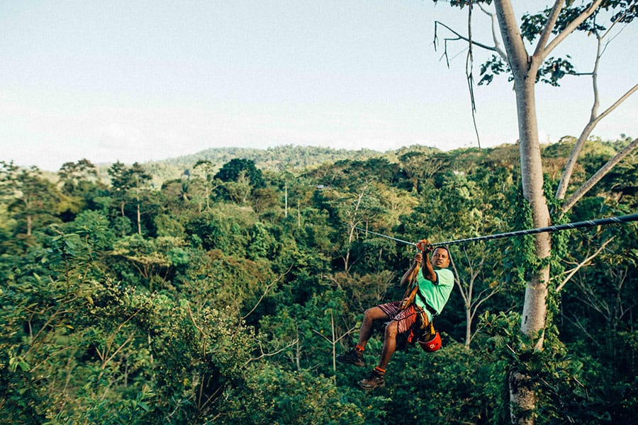 Where to go zip lining in Costa Rica