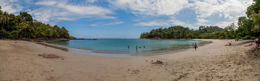The beach at Manuel Antonio Costa Rica | Tico Travel