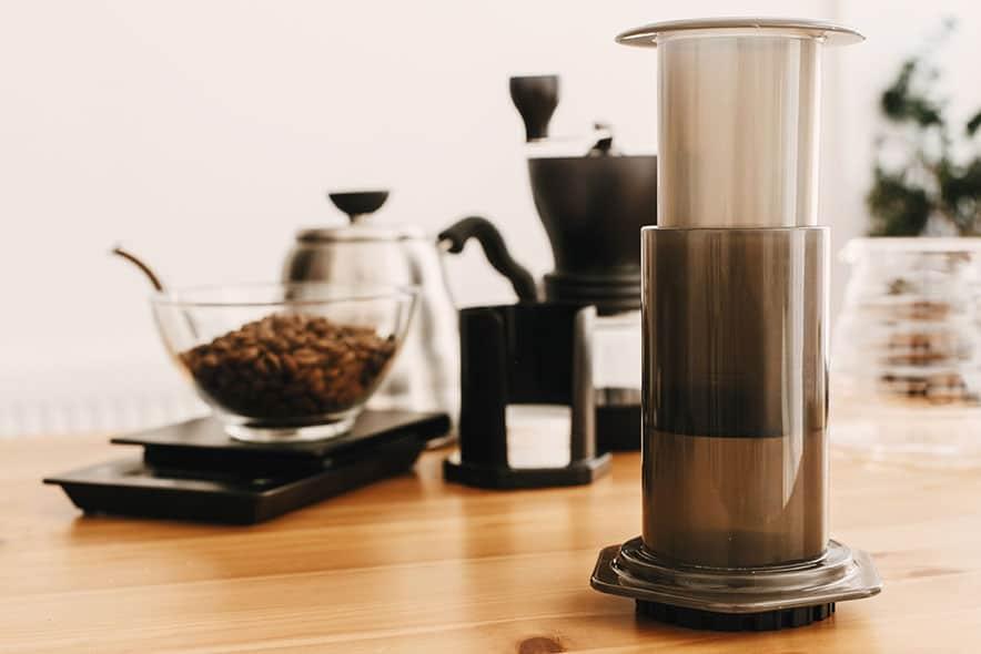 Costa Rica Coffee with a Aeropress
