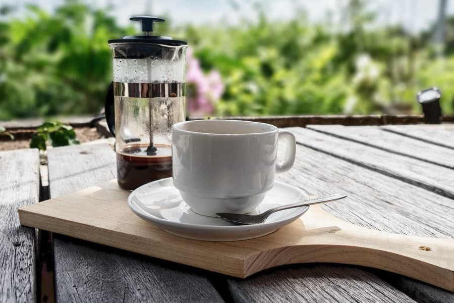 Costa Rica Coffee with a French Press