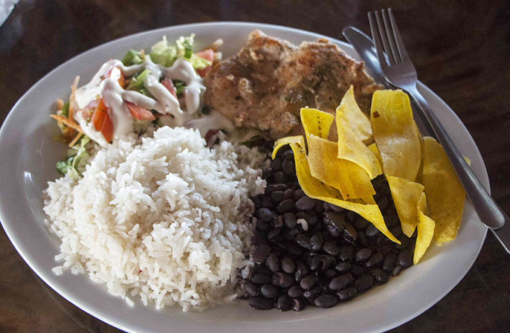 Costa Rica Traditional Food - Casado